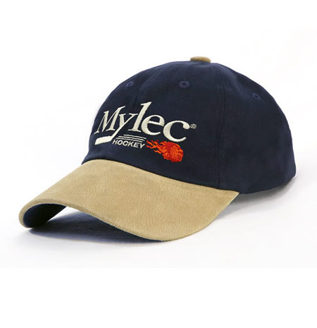 AH011 Unstructured HBC Suede Peak Cap